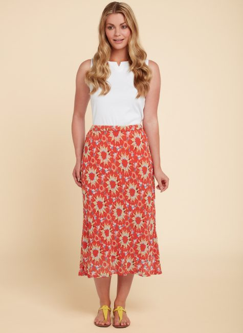 013133MC LILY SKIRT ORANGE