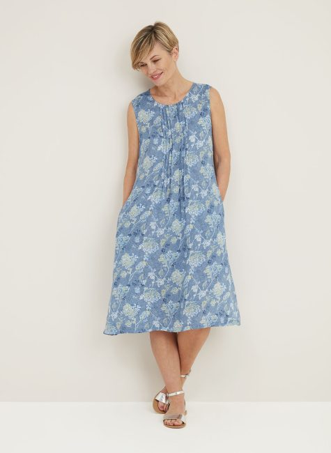 Flora Dress Wildflower Print_114895WMINDIGO_FRONT