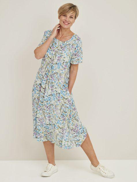 Kayla Dress Posy Print_114864PMMULTI_FRONT