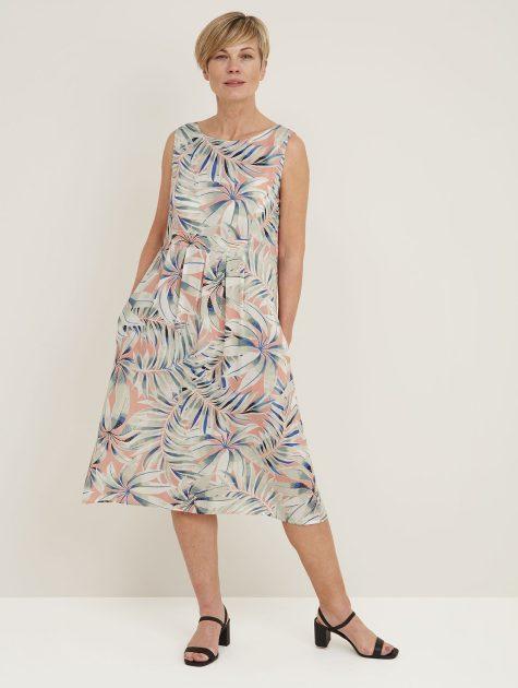 Marin Dress Hothouse Print_114859HVMELON_Front2