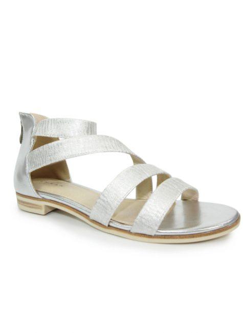 Sol Silver Gladiator Sandal