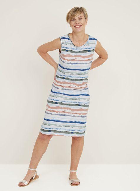 Tidde Dress Whitby Stripe_114739WCMULTI_Front2